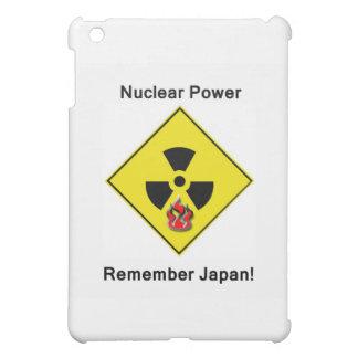 Remember Japan Anti Nuclear Logo iPad Mini Cases
