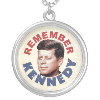 Remember John Kennedy necklace