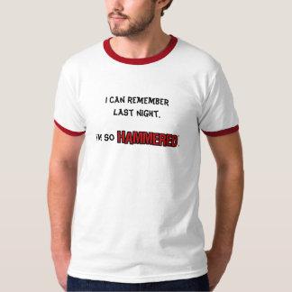 Remember Last Night - Guys Ringer T-Shirt
