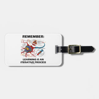 Remember: Learning Is An Iterative Process Synapse Bag Tag