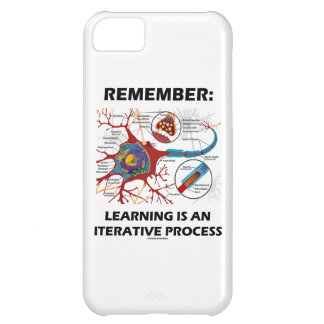 Remember: Learning Is An Iterative Process Synapse Cover For iPhone 5C