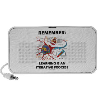 Remember: Learning Is An Iterative Process Synapse iPhone Speaker