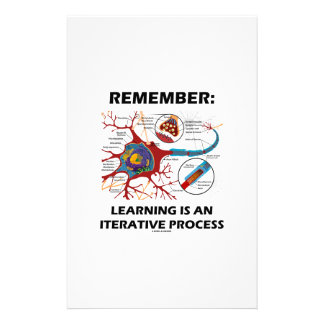 Remember: Learning Is An Iterative Process Synapse Stationery