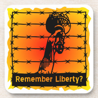 Remember Liberty? Beverage Coaster