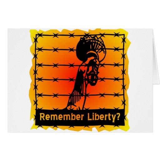 Remember Liberty? Card