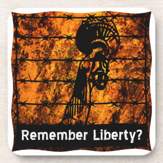 Remember Liberty? Drink Coaster