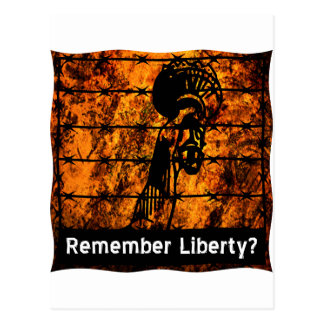 Remember Liberty? Postcard