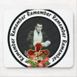 Remember Loved One Frame Circle Add Your Photo Mousepad