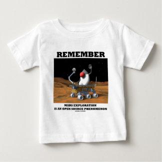 Remember Mars Exploration Open Source Duke Rover Infant T-shirt