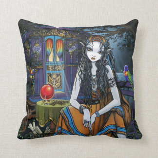 Remember Me BoHo Gypsy Fortune Teller BIG Pillow