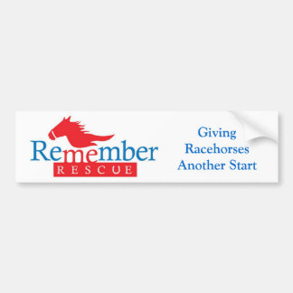 Remember Me bumper sticker