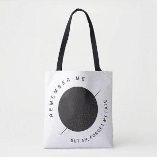 Remember me, but ah, forget my fate! Dido's Lament Tote Bag