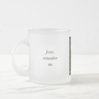 Remember Me Frosted Glass Coffee Mug