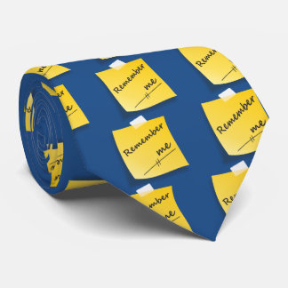 Remember me neck tie