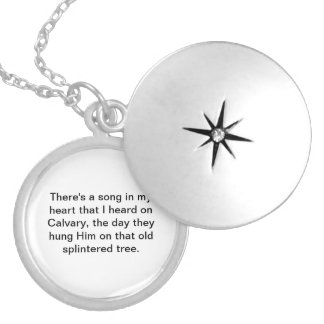 Remember Me Silver Plated Necklace