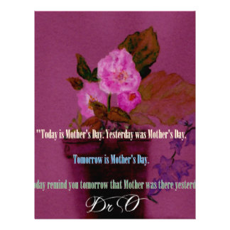 Remember Mothers Everyday Letterhead