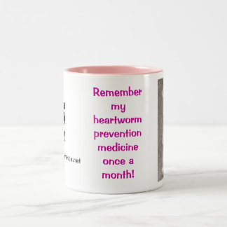 Remember my Heartworm Meds Coffee Mug