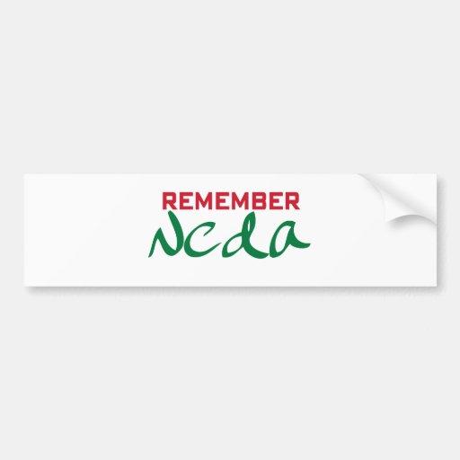Remember Neda (Iran) Car Bumper Sticker