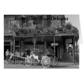 Remember New Orleans Card