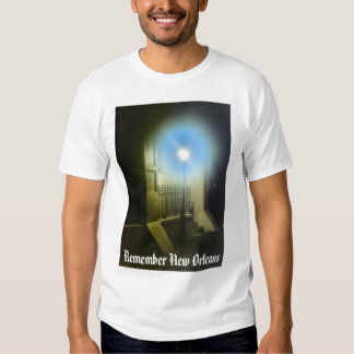 Remember New Orleans Lampost Tee Shirt