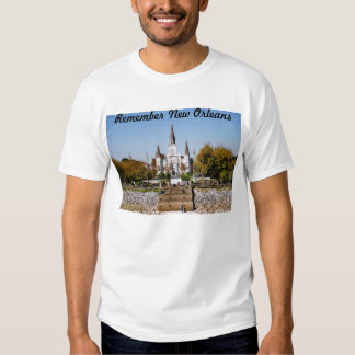 Remember New Orleans St Louis Cathedral T-shirt
