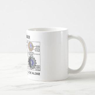 Remember Not All Viruses Look Alike (Virology) Coffee Mug