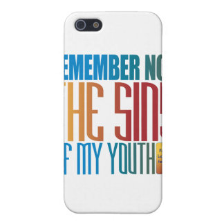 Remember not the sins of my youth covers for iPhone 5