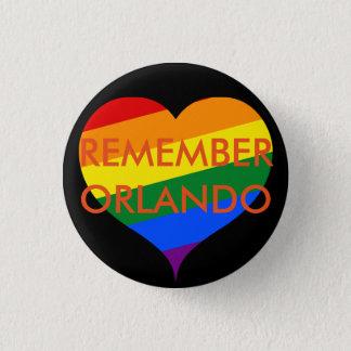 Remember Orlando Memorial Button