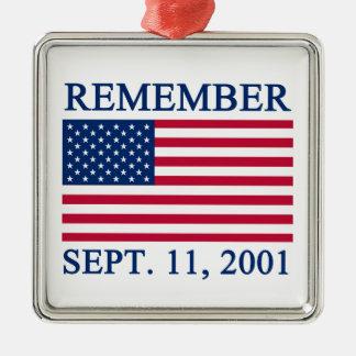 REMEMBER Ornament