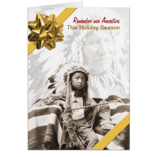 Remember Our Ancestors Greeting Card