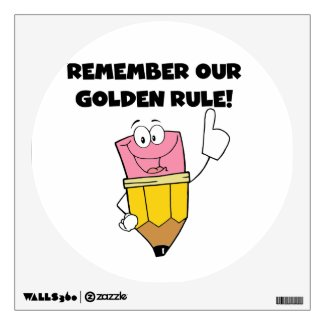 Remember Our Golden Rule Room Decal