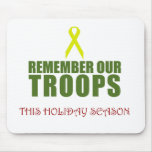 Remember Our Troops This Holiday Season Mousepad