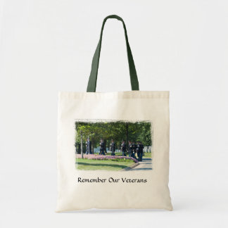 Remember Our Veterans Tote Bags