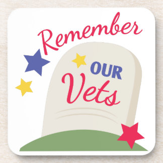 Remember Our Vets Coaster