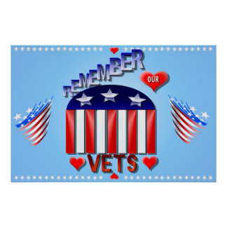 Remember Our Vets Posters