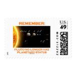 Remember: Pluto No Longer Has Planetary Status Postage