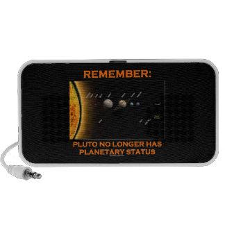 Remember: Pluto No Longer Has Planetary Status Speaker