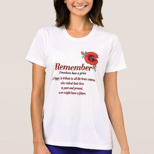 Remember Poppy T-Shirt