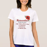 Remember Poppy T-shirts