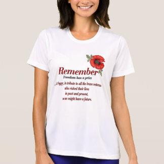Remember Poppy Tee Shirt