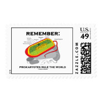 Remember: Prokaryotes Rule The World (Bacterium) Postage