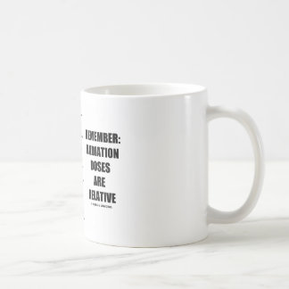 Remember: Radiation Doses Are Relative Mugs