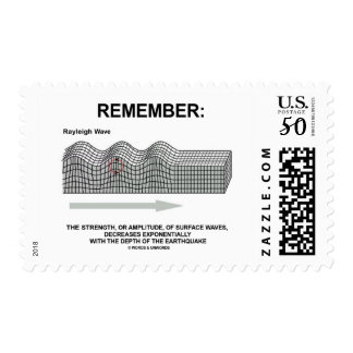 Remember: Rayleigh Wave Strength Amplitude Postage