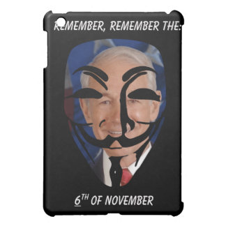 Remember, Remember the (6)th of November iPad Mini Cases