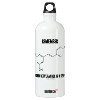Remember Research On Resveratrol Is In Its Infancy Aluminum Water Bottle