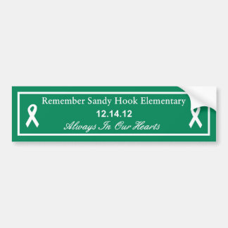 Remember Sandy Hook Elementary School bumper Car Bumper Sticker