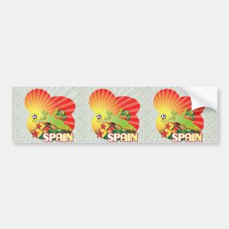 Remember SPAIN world Cup 2010 Champions Car Bumper Sticker