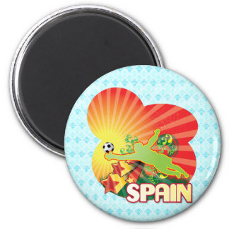 Remember SPAIN world Cup 2010 Champions 2 Inch Round Magnet