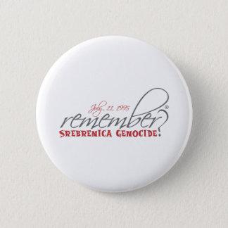 remember srebrenica genocide button