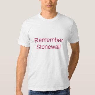 Remember Stonewall T-shirts